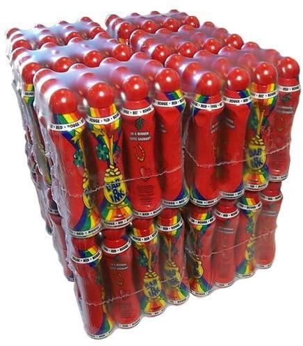 Dab-O-Ink Full Case 4oz Red Bingo Dauber
