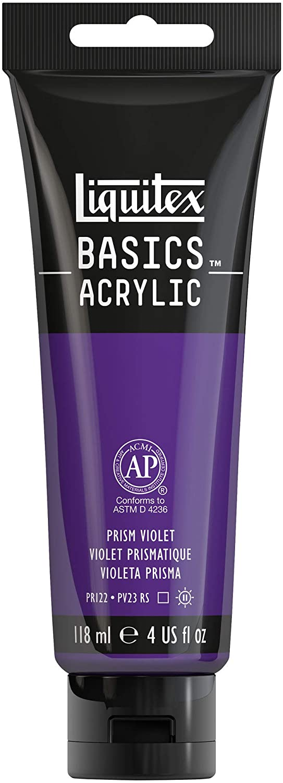 Liquitex BASICS Acrylic Paint, 4-oz tube, Prism Violet