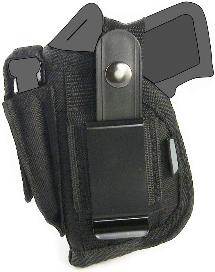 Belt Side Holster fits Smith & Wesson - S&W Bodyguard 380 with 2.75