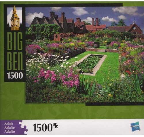 Big Ben Puzzle: Red Brick Garden