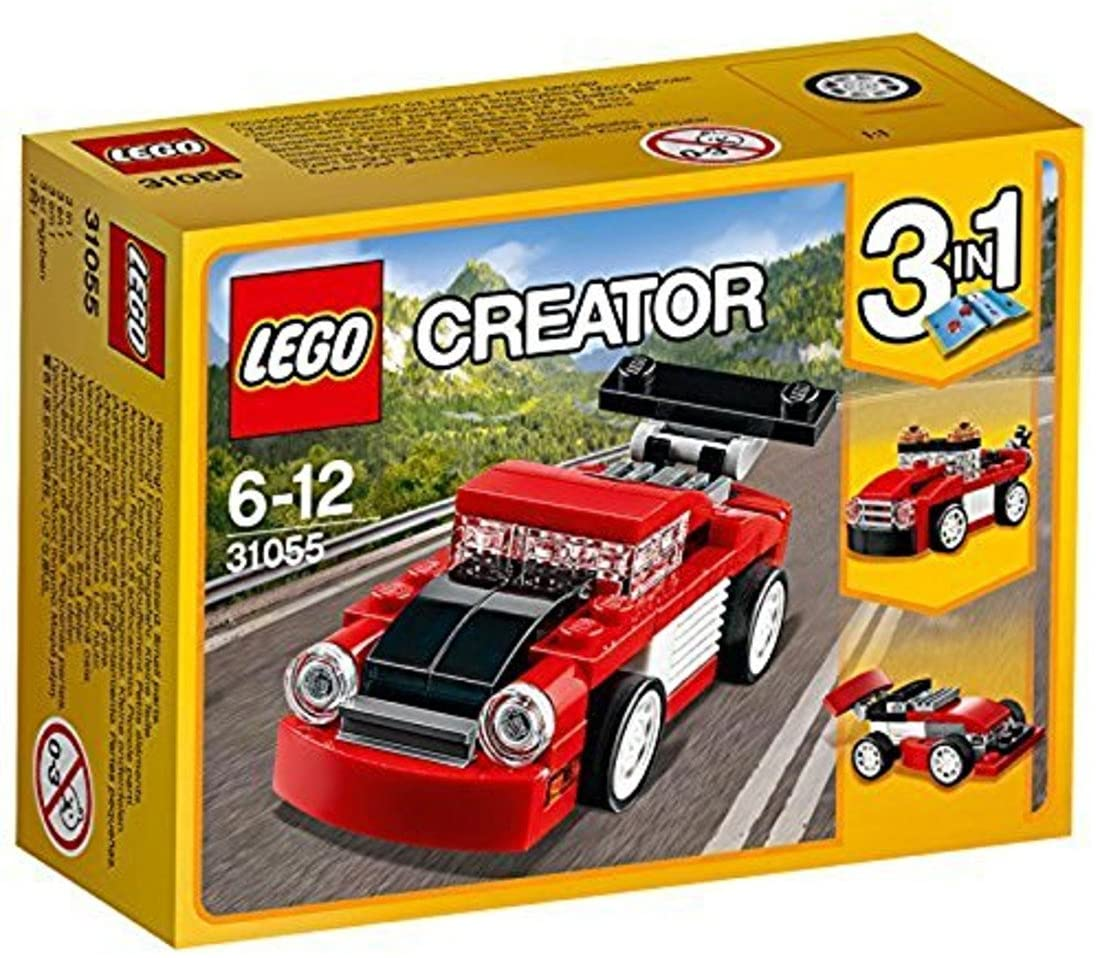 DISCO - 31055 LEGO Creator Red racer