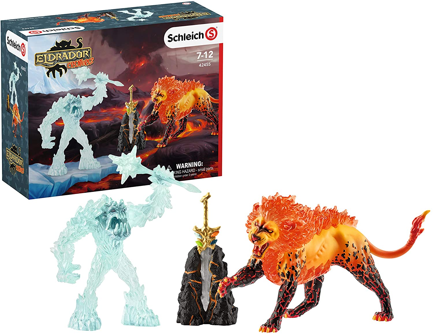 Schleich Eldrador Creatures Battle for the Super Weapon 5-piece Action Figure Toy Playset for Kids Ages 7-12