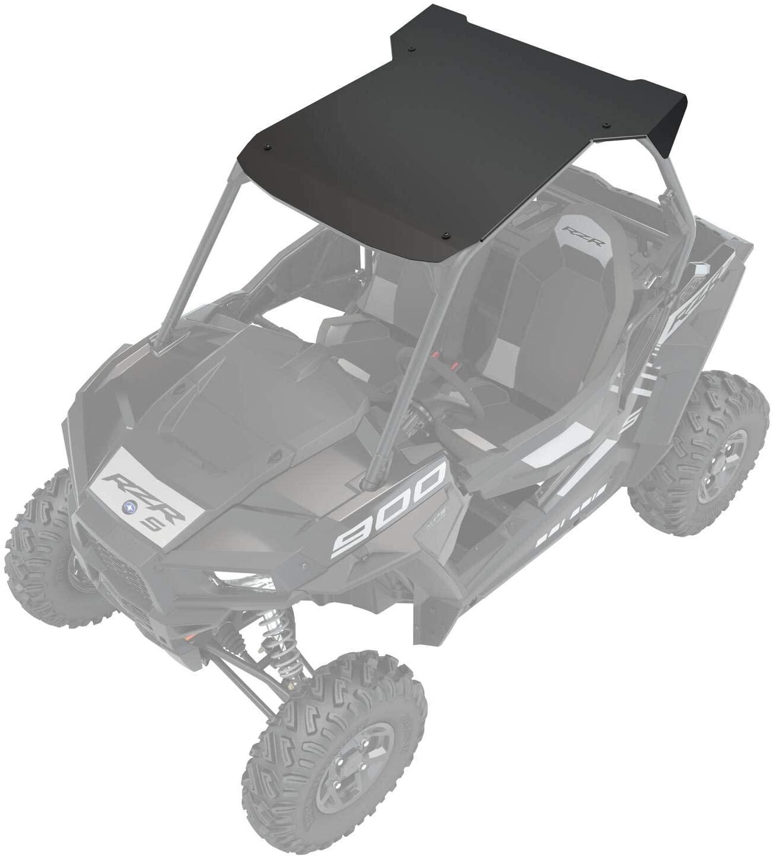RZR Aluminum 2 Seat Roof, Matte Black