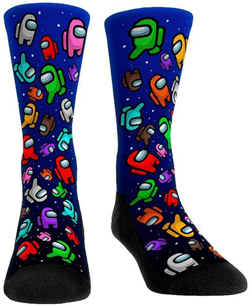 Among Us Game Socks, Womens Funny Stockings Socks, Imposter Sus Socks, Novelty Gift, Warm Bulk Pack Cotton Stocks