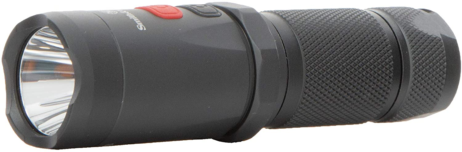Smith & Wesson Night Guard Micro Flashlight with Compact Design, Easy Operation and Heavy Duty Construction for EDC, Work, Survival, Hunting and Outdoor