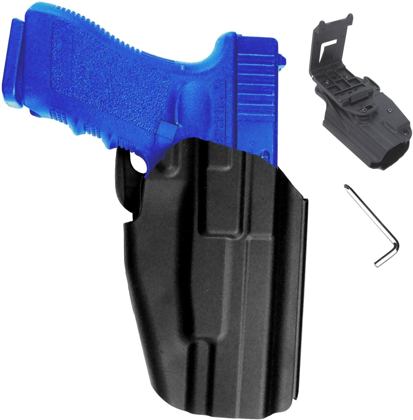 NH Gun Holster OWB Pistol Paddle Tactical Active Waistband Belt Loop Quickdraw CQC Concealment for Glock, S&W M&P, H&K, Beretta & Sig Sauer