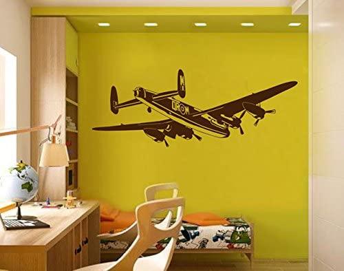 STICKERSFORLIFE Ik2282 Wall Decal Sticker Plane Air Transport Living Children's Bedroom