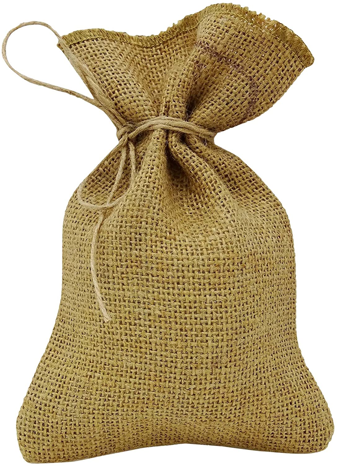 Darling Souvenir 50 Natural Rustic Jute Drawstring Favor Bag Wedding Party Thank You Small Gift Sack Pouches 3