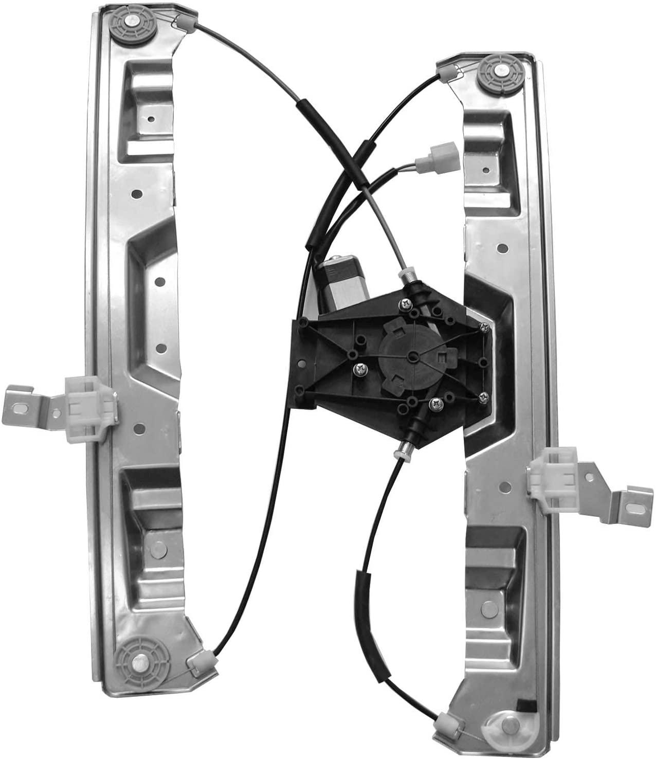 Gldifa Front Passenger Power Window Regulator and Motor Compatible with Explorer/Mountaineer 4 Door 1pc