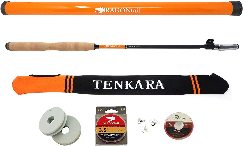 DRAGONtail MIZUCHI zx340 Zoom Small Stream 3 Length Tenkara Rod