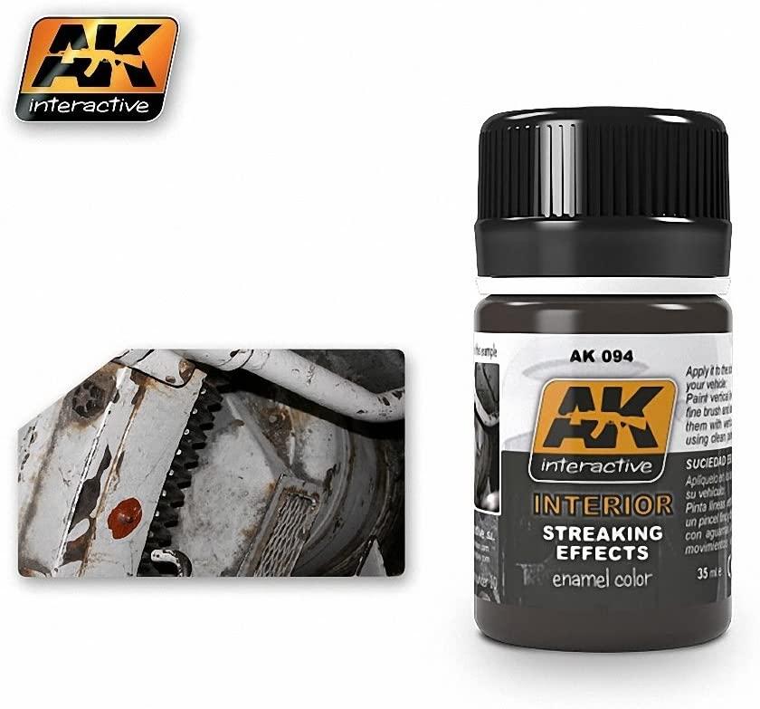 AK Interactive STREAKING GRIME FOR INTERIORS AK 094