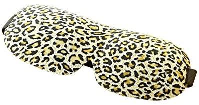 ROSENICE Sleep Mask Sleep Blindfold Comfortable Travel 3D Eye Mask for Nap Light Block(Leopard Print)