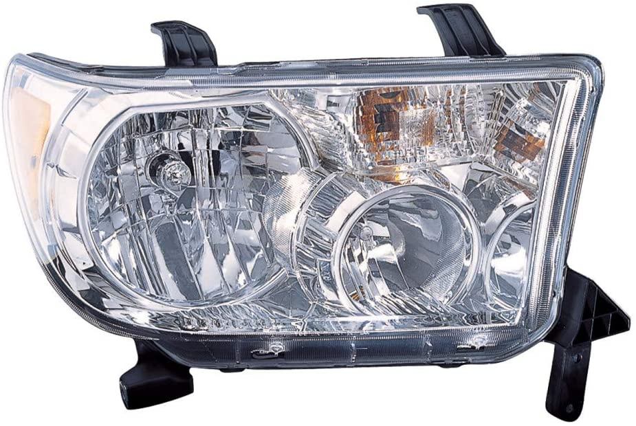 For Toyota Tundra Headlight Assembly 2007-2013 Passenger Side w/o Level Adjuster For TO2502171   81150-0C051