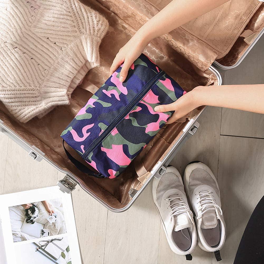 Caredy Shoe Pouch Bag Shoe Storage Bags Shoe Packing Bags for Travel Shoe Bags for Women(Pink)