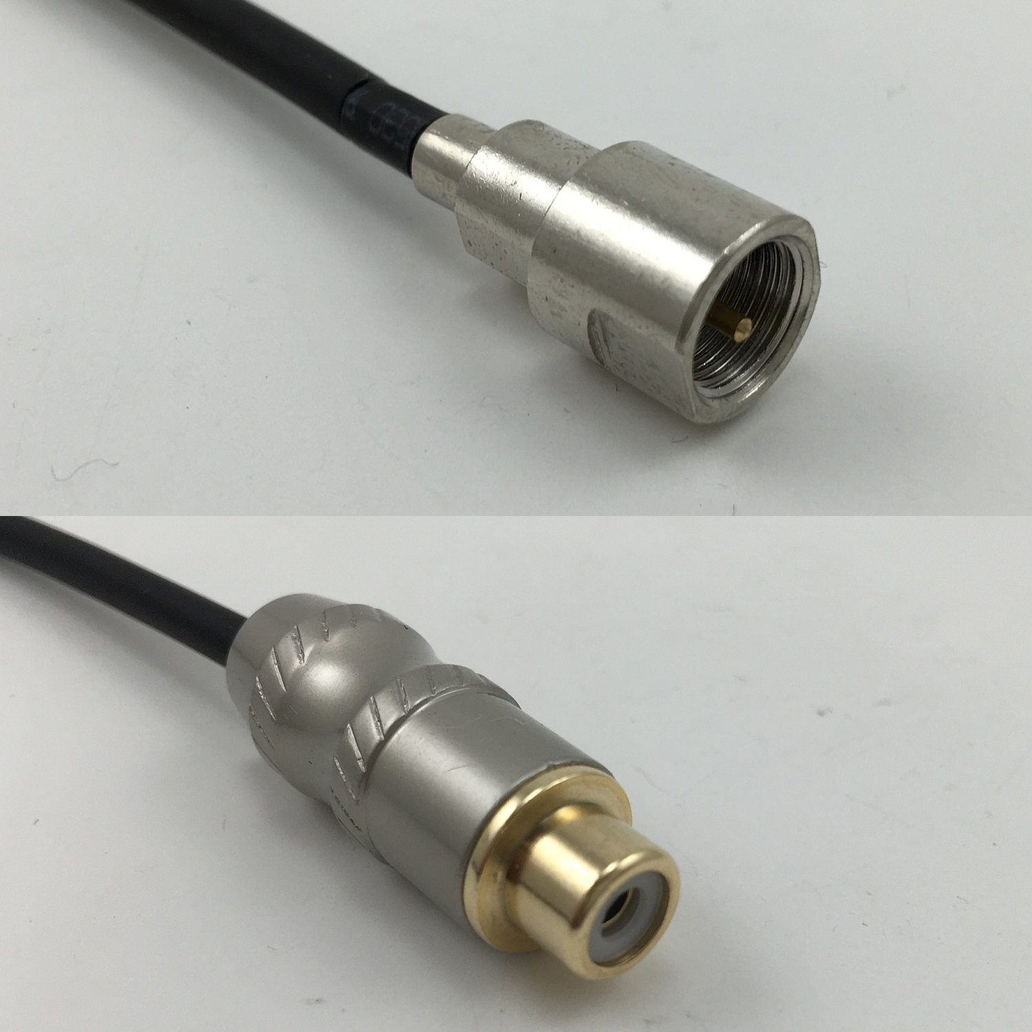 6 inch RG174 FME MALE to RCA FEMALE Pigtail Jumper RF coaxial cable 50ohm High Quality Quick USA Shipping