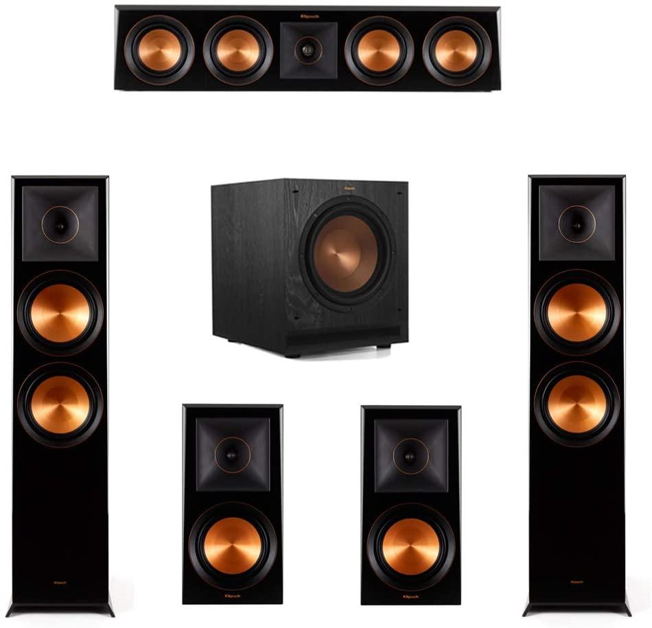 Klipsch 5.1.2 Piano Black System-2 RP-8060FA,1 RP-404C,2 RP-600M,1 SPL-100