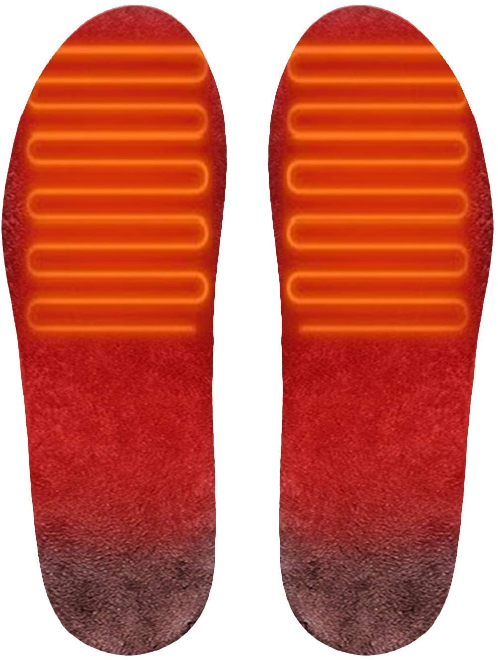 Heated Insoles USB Charging Heated Insoles,Electric Heating Insole Adjustable Washable Heating Insole Foot Warmer, Essential Products to Keep Warm in Winter