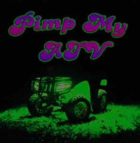Green Blob Outdoors Pimp My ATV LED All Terrain Recreational Vehicle Lighting Kit Lights DIY Golf Cart Motorcycle Strips