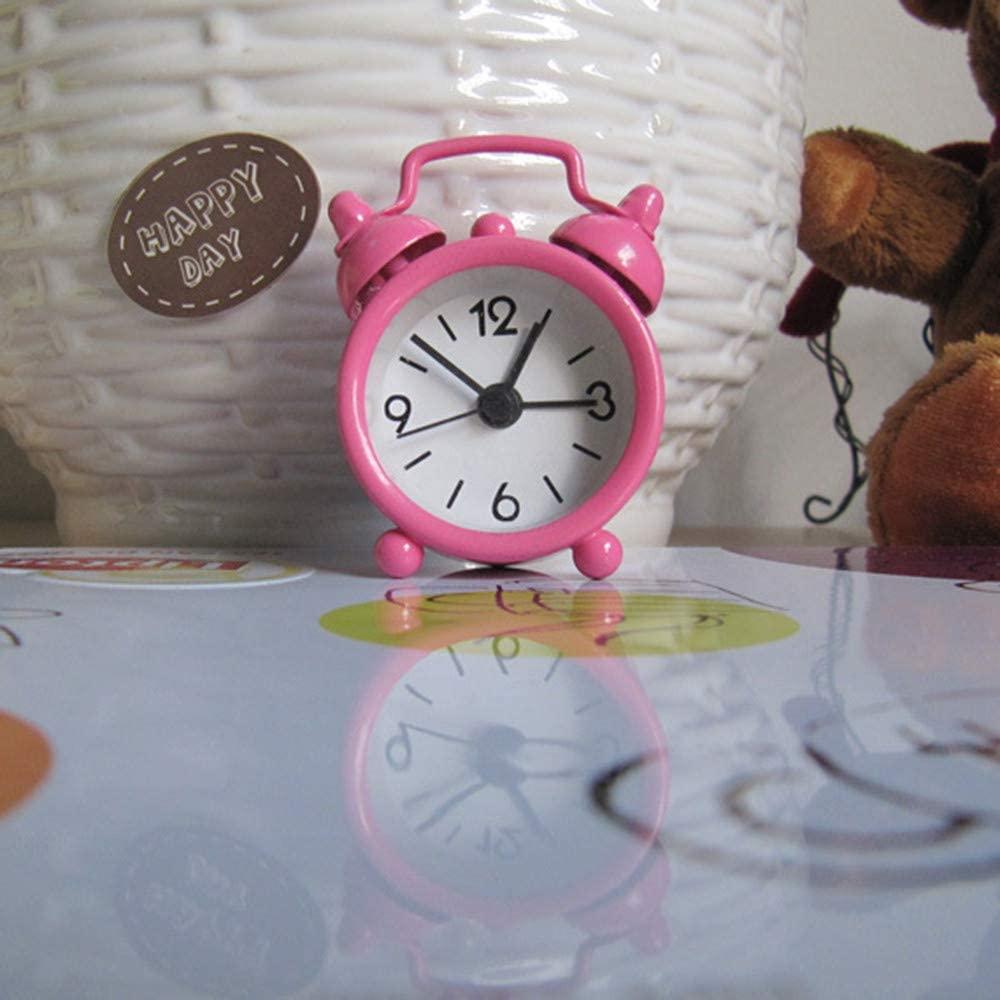 Creative Cute Mini Metal Small Alarm Clock Electronic Small Alarm Clock Home & Garden Clock