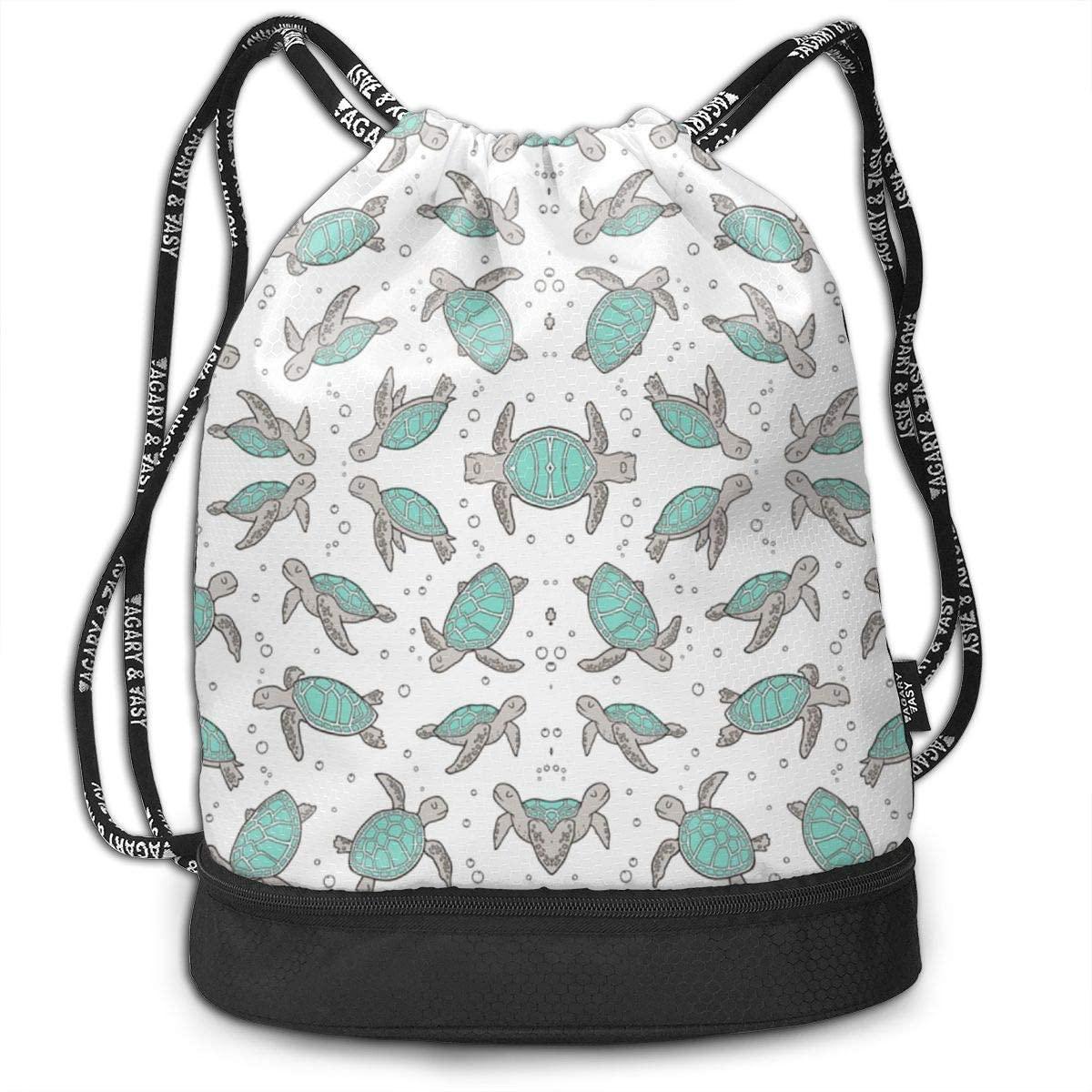 XUJ YOGA Drawstring Backpack Sports Sackpack for Men Women Children Large Size