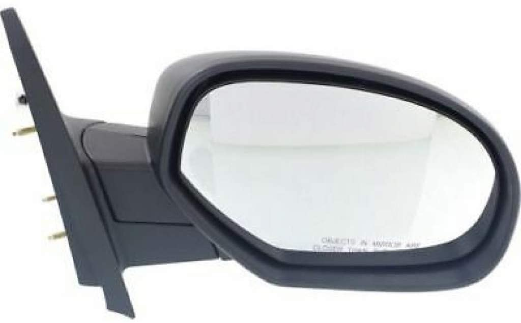 KarParts360: For 2007-2013 GMC Sierra Door Mirror - Passenger Side - Non-Heated, Manual