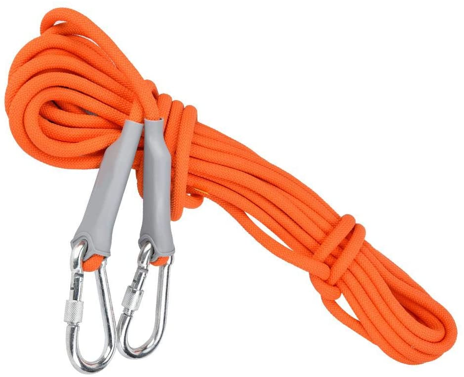 Alomejor Rope Outdoor Safety Mountain-Climbing Rope with Polypropylene for Aduits
