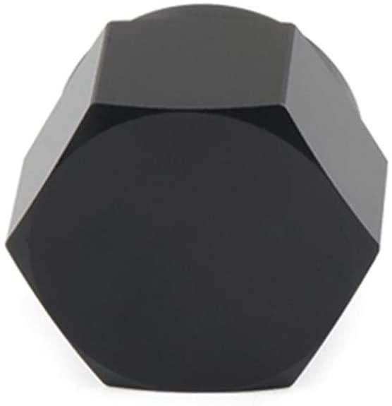 Stylishbuy Aluminum AN6 AN8 AN10 Adapter Female Flare Cap/Plug/Nut Blocker Fitting Black
