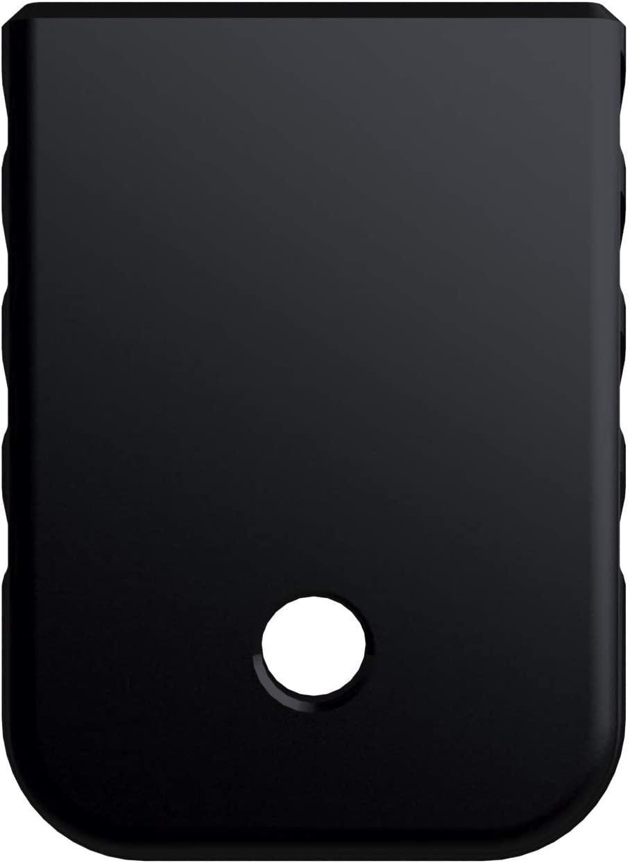 Rowe Tactical Glock Gen 1-5 Magazine Base Plate - Black (Angle Serrations) - Fits 9mm .40 Cal .357 Sig 45 Gap