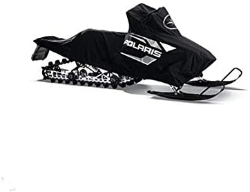 Polaris Snowmobiles Switchback Snowmobile PRO-RIDE153; W/Rack Cover - Black