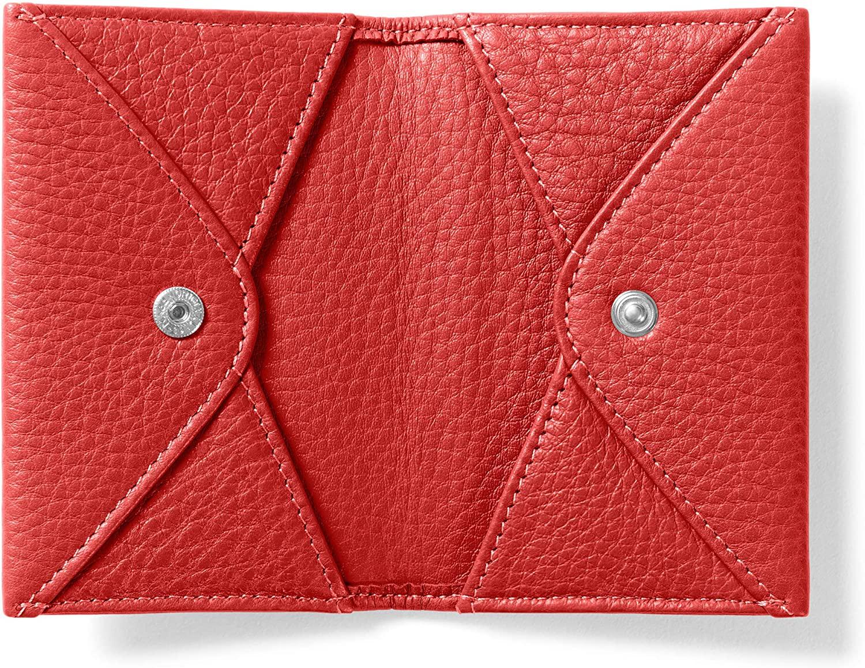 Leatherology Scarlet Double Sided Card Envelope