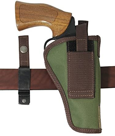 Barsony New Woodland Green Ambidextrous 360Carry 12 Option Holster for 4