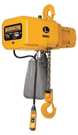 Electric Chain Hoist, 1000 lb, 15 ft.