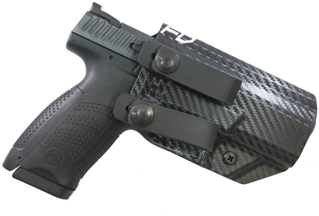 Fierce Defender IWB Kydex Holster CZ P07 The Grey Man Series -Made in USA-