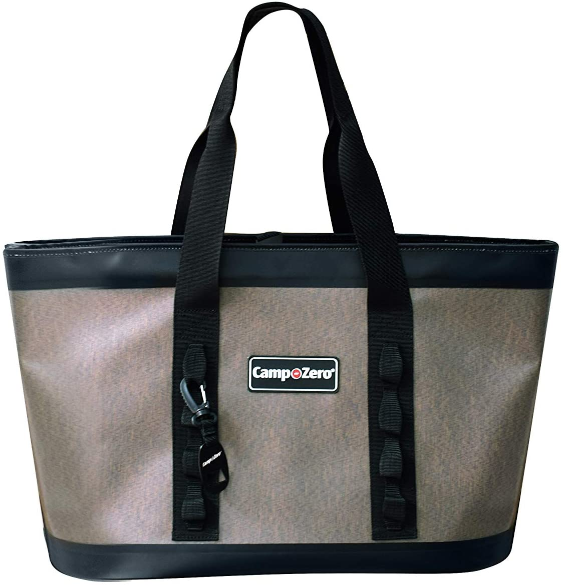 CAMP-ZERO All-Carry 40 Utility Beach, Boat and Everyday Tote Bag | Beige and Black