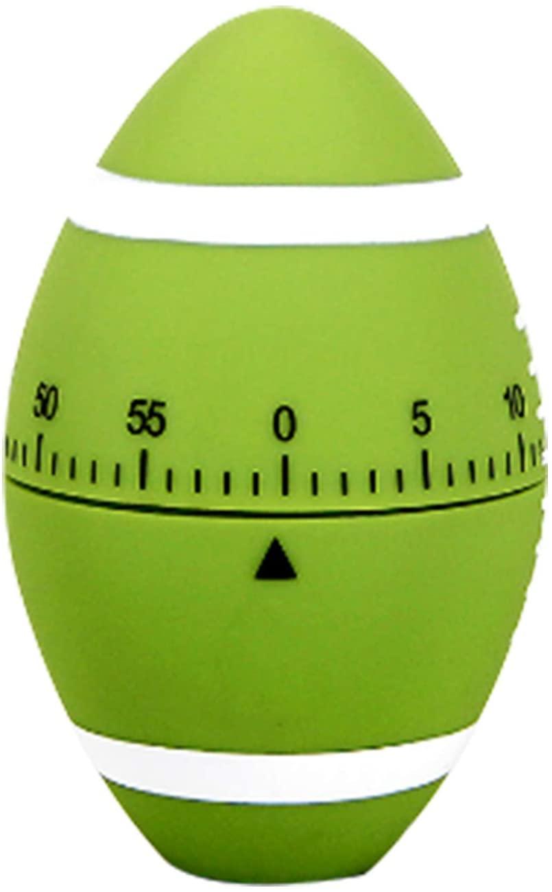 Ranvi Cute Football Timer, Mini 55 Mins, for Time Management, Kitchen Timer, Kids Timer, Workout Timer(green)
