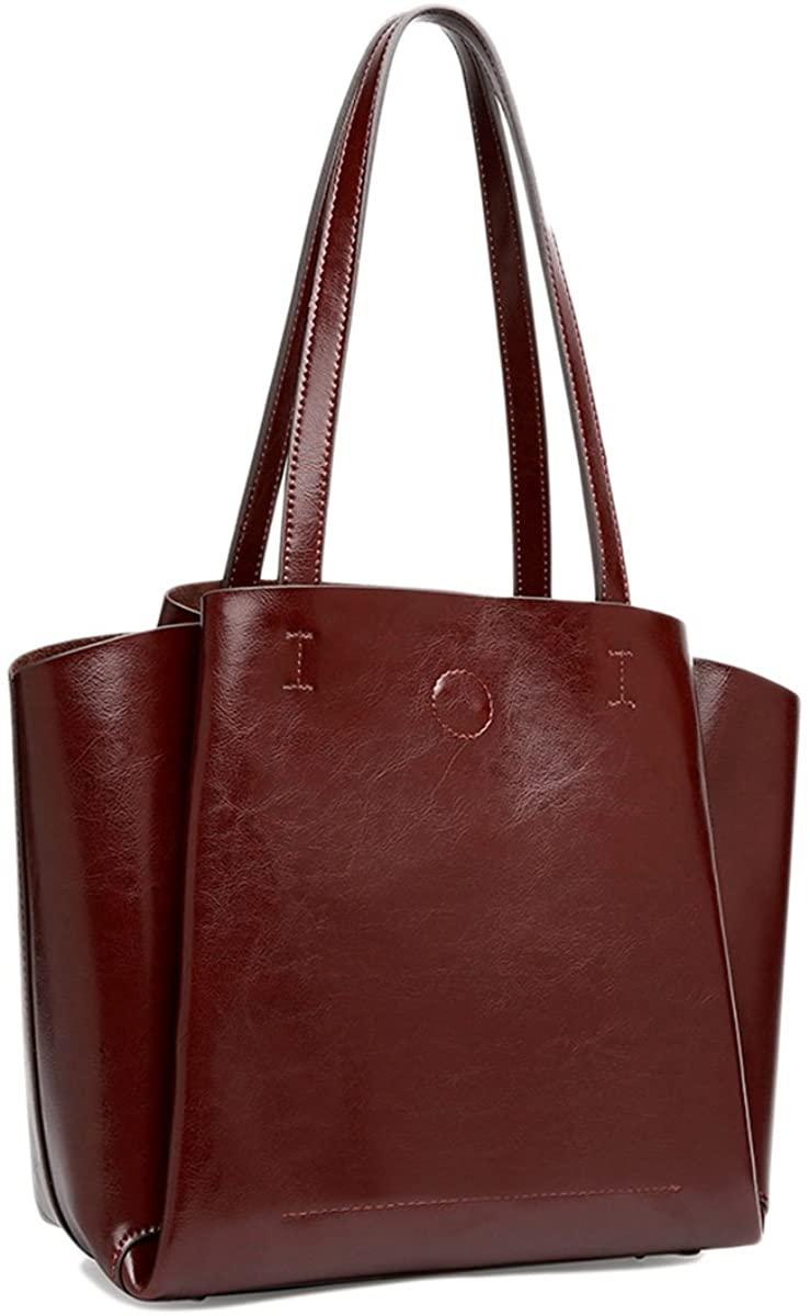 Retro Vintage Tote Shoulder Bag Wing-shaped Fashionable Handbag for Women (Coffee)