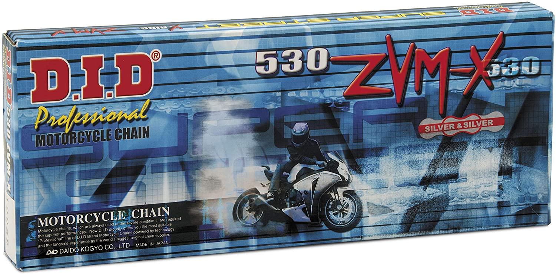D.I.D 530ZVMX-110L 530 ZVMX Super Street X-Ring Chain - 110 Links - Natural