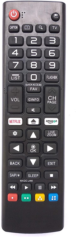 Universal Remote Control for Lg TV 55UJ6300 55UJ6540 55UJ6540-UB 60UJ6300 65UJ6300 65UJ6540 70UJ6570 75UJ6470 75UJ657A