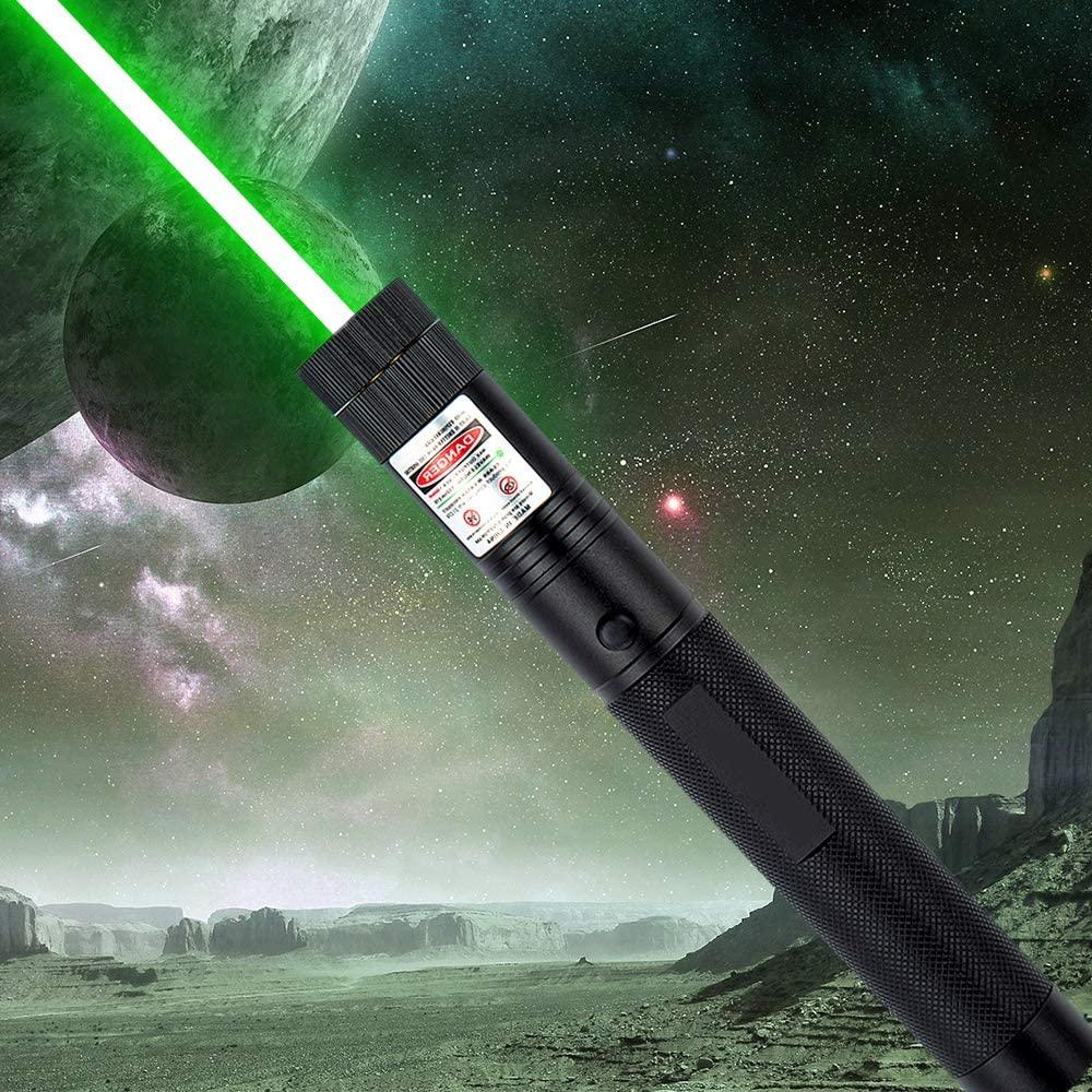 Laca High Power Green Glare Outdoor Flashlight Professional Travel Indicator Hunting