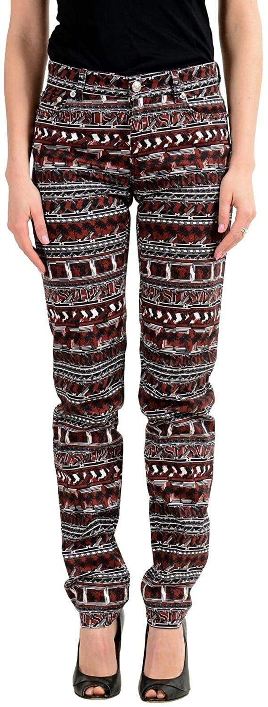 Versace Versus Women's Multi-Color Stretch Straight Leg Jeans Sz US 28 IT 42