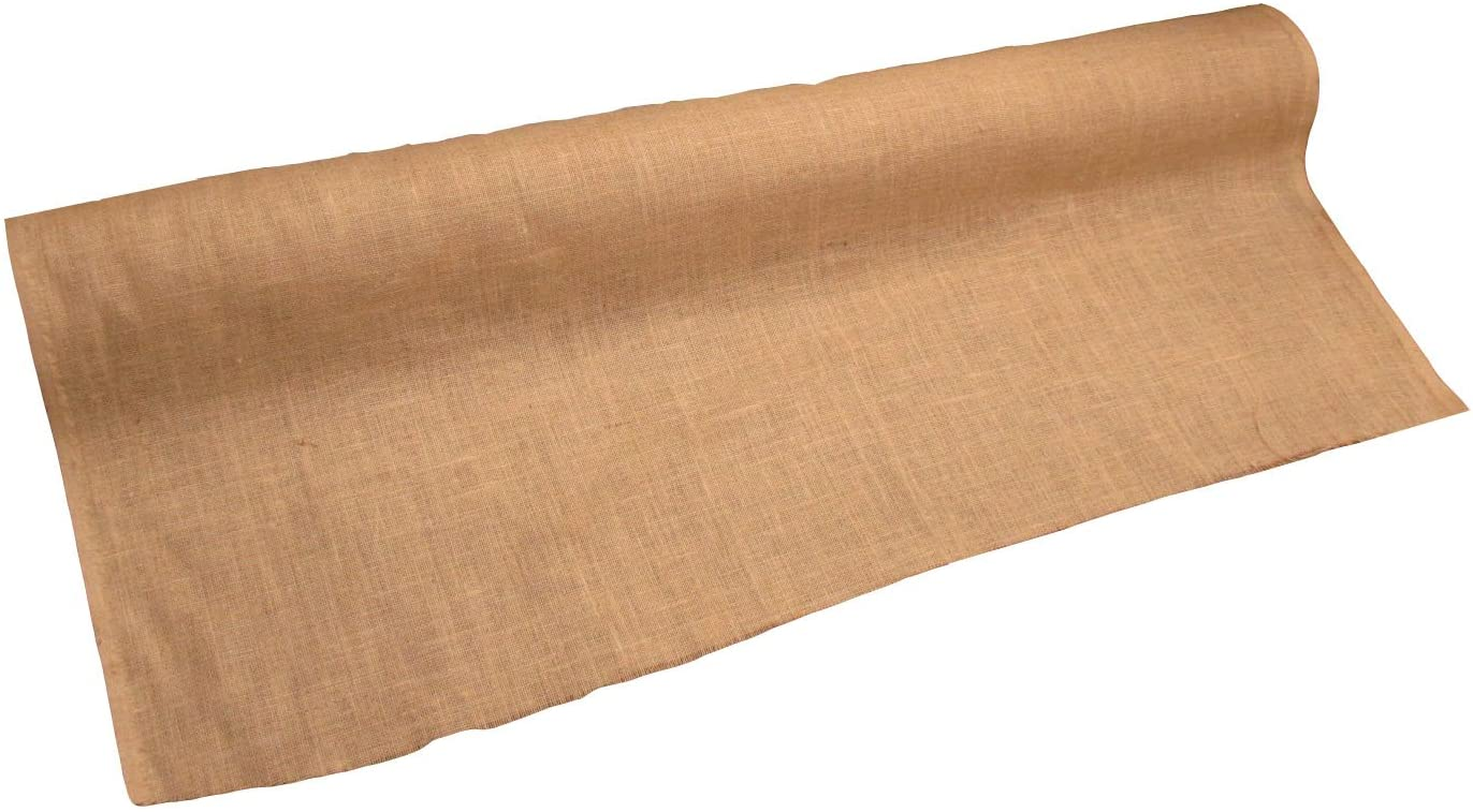 LA Linen 60-Inch Wide Natural Burlap , 70 Yard Roll