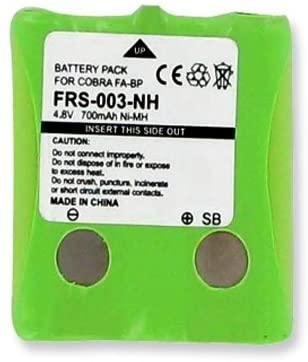 Empire 2-Way Radio Battery, Works with Cobra FRS 2-Way Radio, (Ni-MH, 4.8V, 700 mAh) Ultra Hi-Capacity Battery