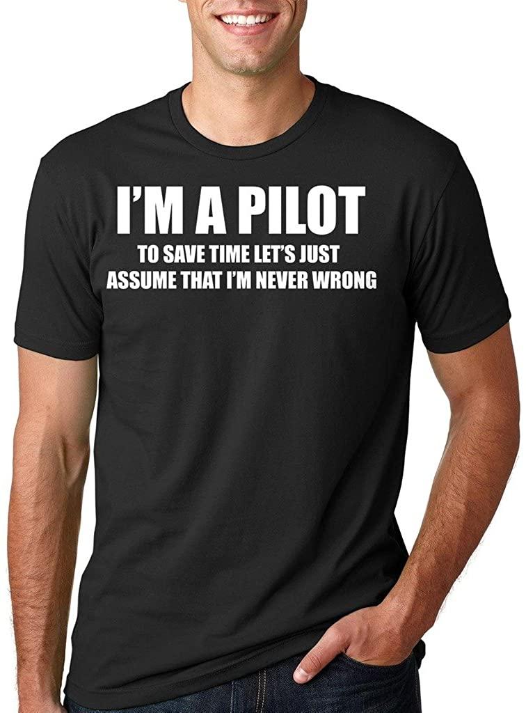 Pilot Funny T-Shirt Pilot Flight Tee Shirt