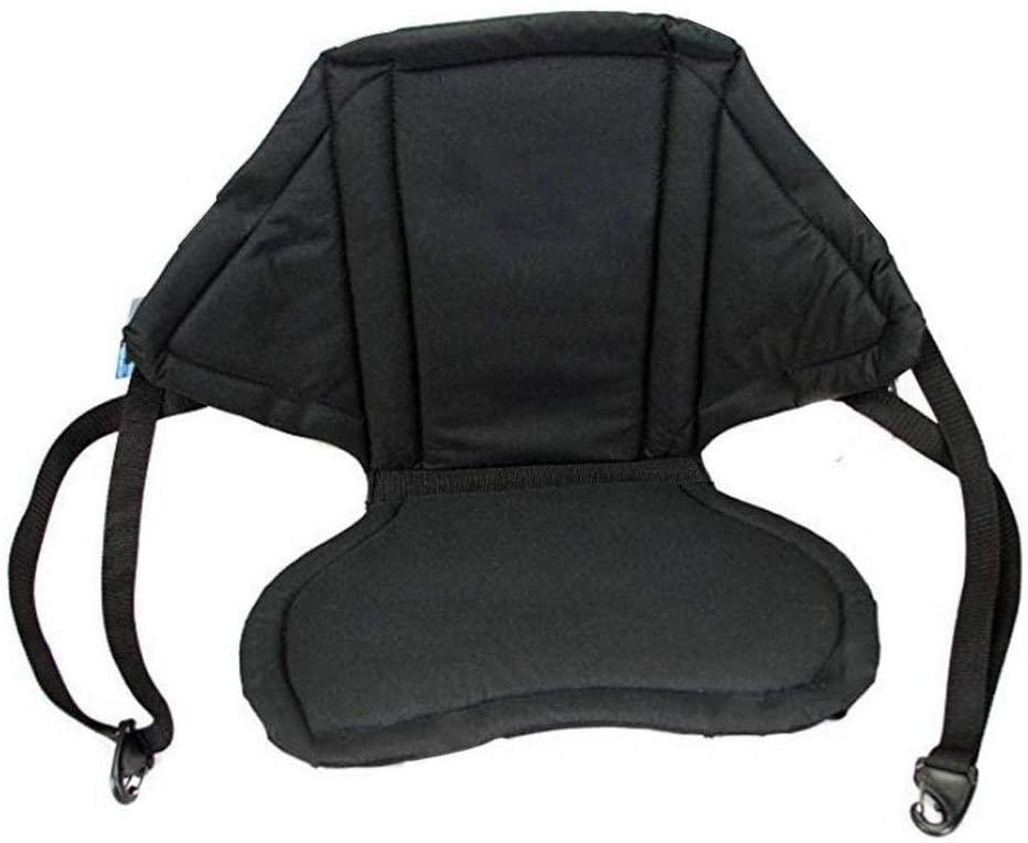 Luxury Cushion Seat Universal For Kayak Canoe Boat, With Antiskid Base High Backrest, Water Sports Equipment