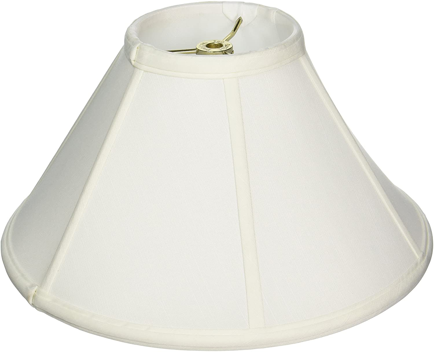 Royal Designs Empire Lamp Shade, White, 4.5 x 12 x 7.5