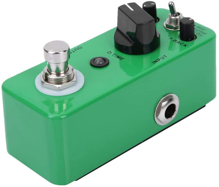 Simlug Delay Effects Pedal, Delay Pedal, Pure Analog Circuit for Professionals Musical Instrument