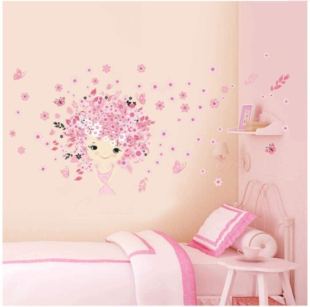 dsajgker Sticker Decals Wallpaper Princess Castle Children's Room Bedroom Wall Stickers