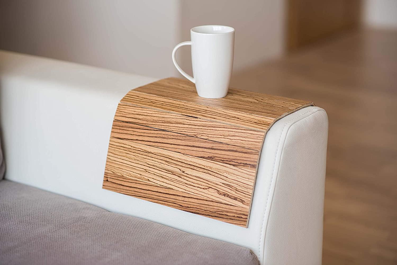 Wood Sofa arm Tray Protectors armrest Table Sofa Table Coaster Sofa Tray, tv Tray (2.)