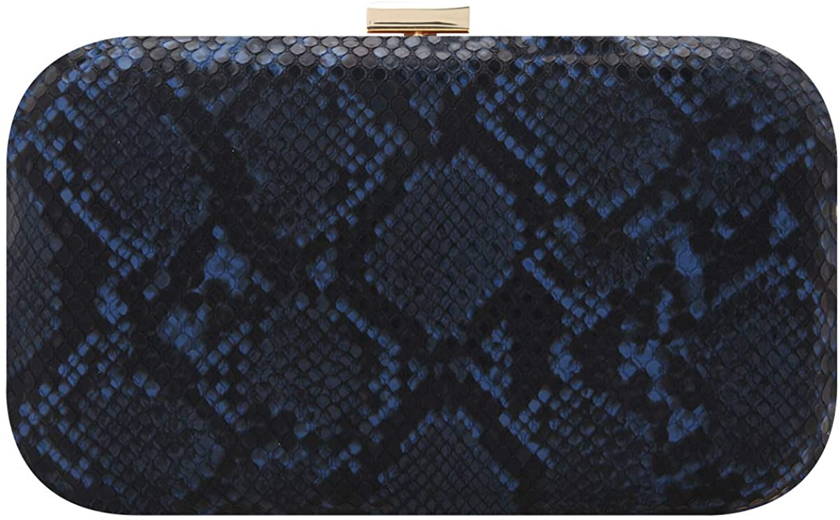 Fawziya Evening Bags And Clutches For Women Snakeskin Clutch