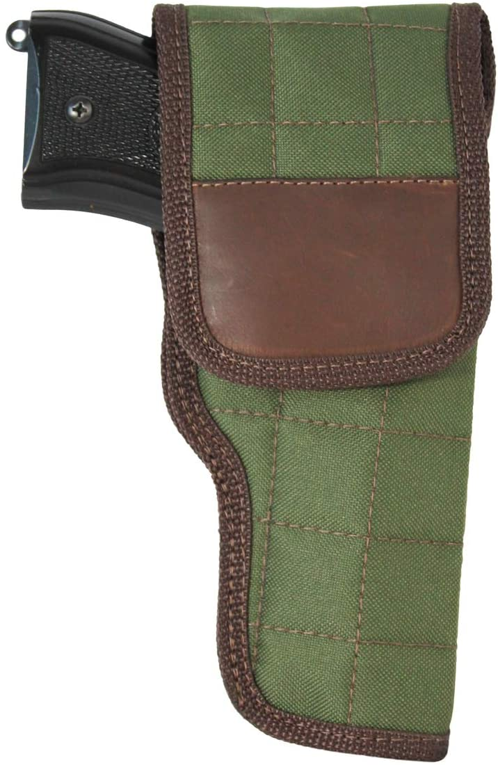 Barsony New Woodland Green OWB Flap Holster for Full Size 9mm 40 45 Pistols